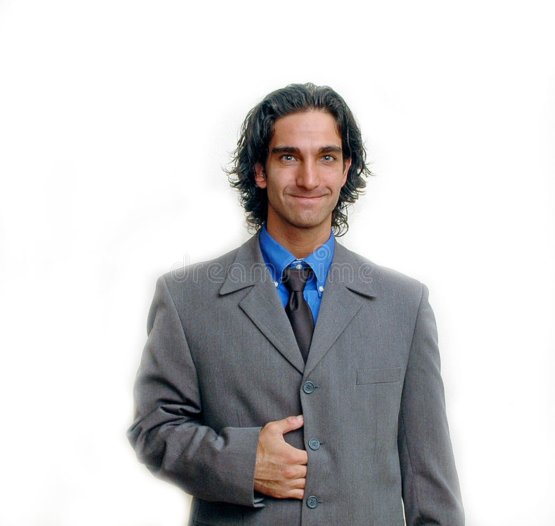 Businessman portrait-1 royalty free stock photos