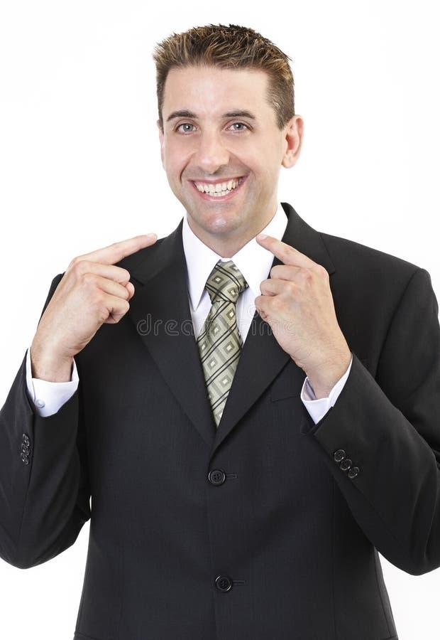 Businessman portrait 2 stock photos