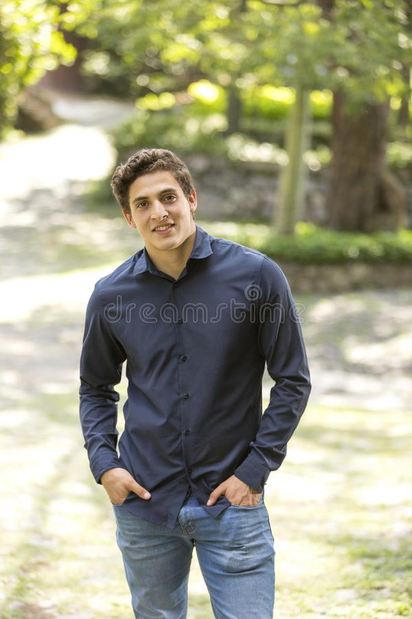 Business young man portrait stock photo