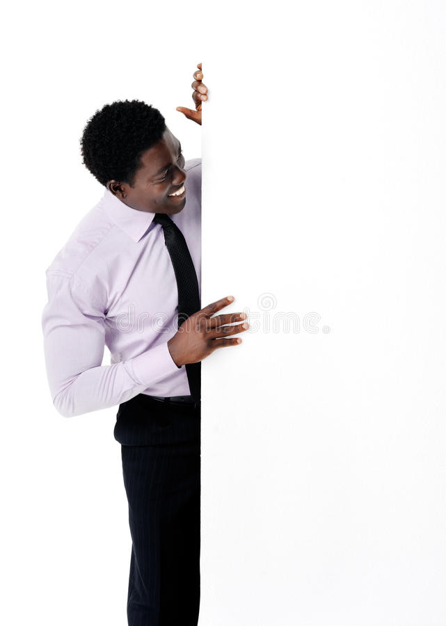 Download Businessman presenting stock photo. Image of formal, approachable - 23713798