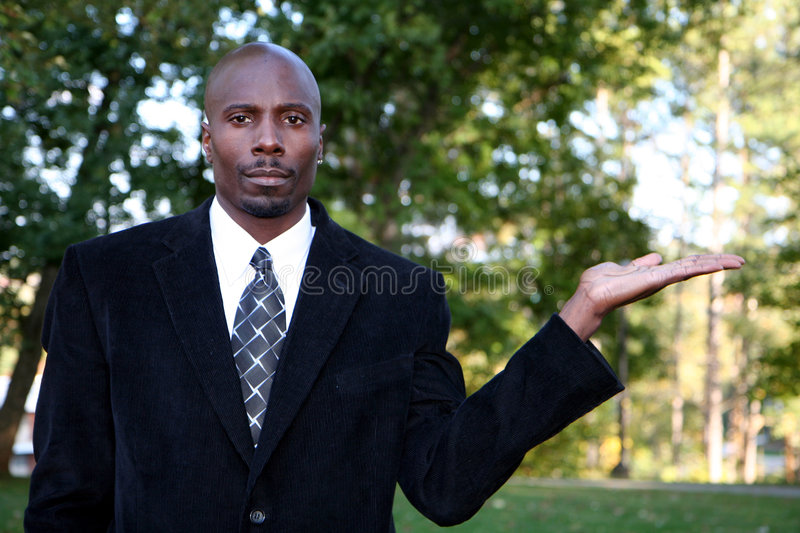 Download Businessman With Product Stock Photos - Image: 1417733
