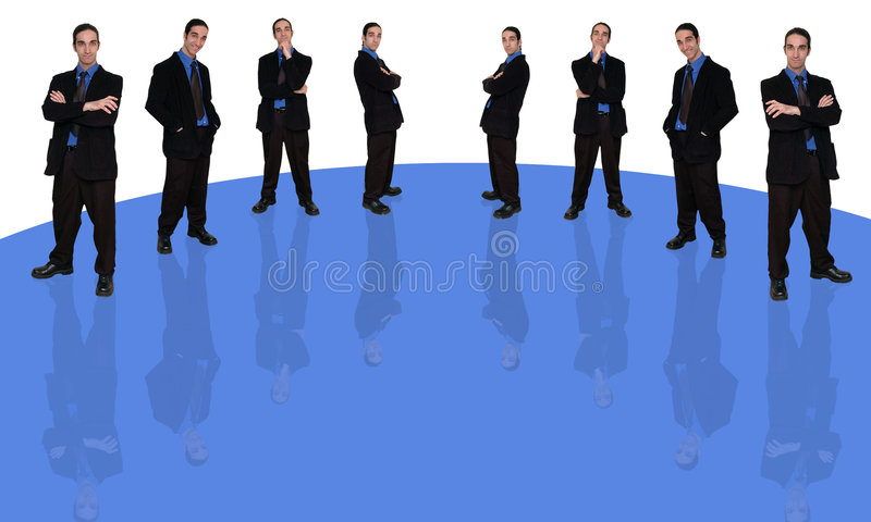 Businessman and question-1 vector illustration