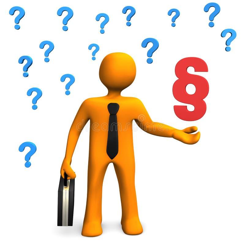 Businessman Questions Paragraph Stock Photos