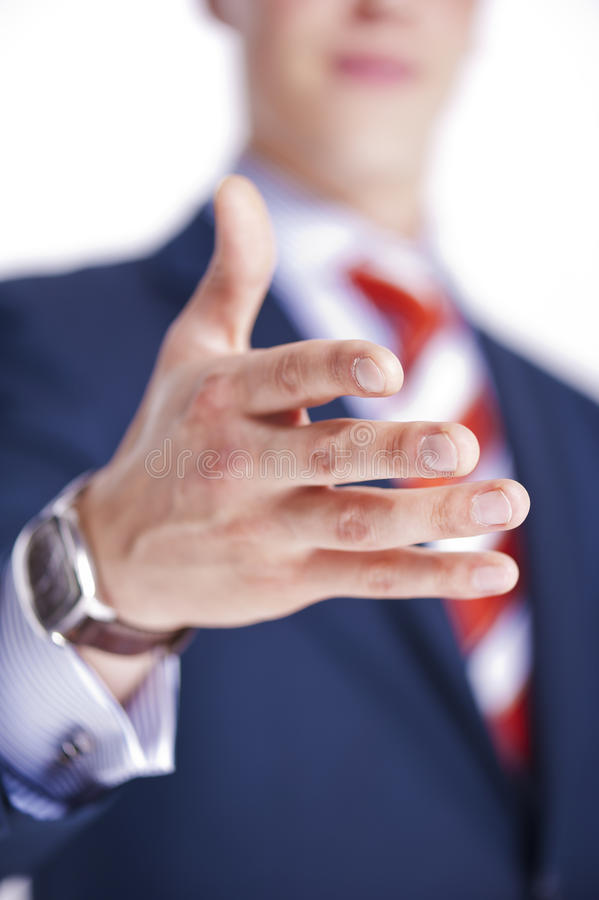 Download Businessman Ready For A Deal Stock Photo - Image: 23352612