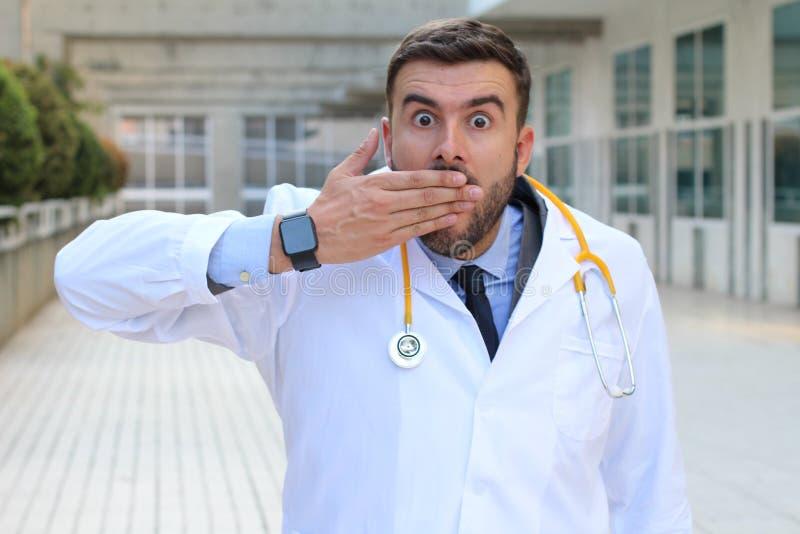 Businessman realising a major mistake royalty free stock photo
