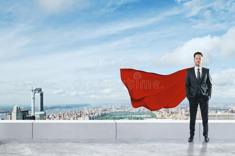 Leadership and brave concept royalty free stock images
