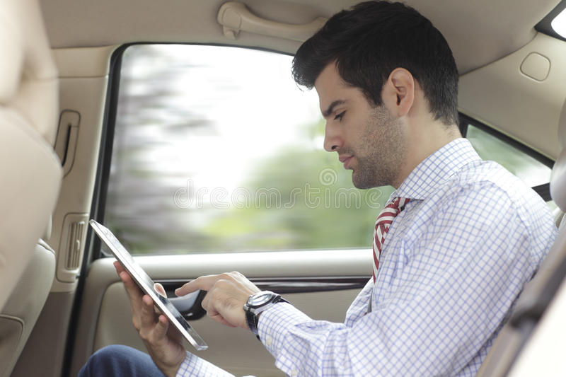 Download Businessman On The Road Royalty Free Stock Image - Image: 34442516