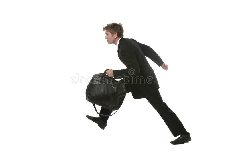 Businessman Running royalty free stock photo