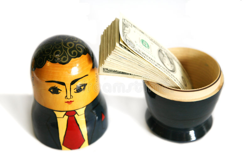 Download Businessman Russian Doll Royalty Free Stock Photo - Image: 2992905