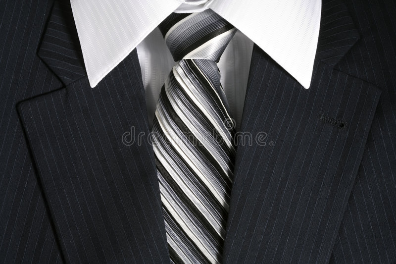 Businessman's suit royalty free stock photo