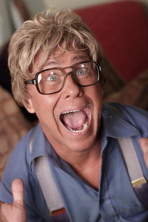 Download Businessman Screaming At Himself Royalty Free Stock Images - Image: 17382459