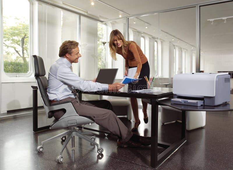 Download Businessman And Secretary Ucm Stock Image - Image: 38232503