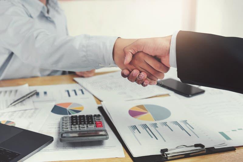 businessman shake hand stock image