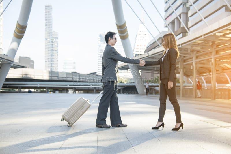 Businessman shaking hands. Teamwork Shake Hands Partnership Concept. success concept.  stock images