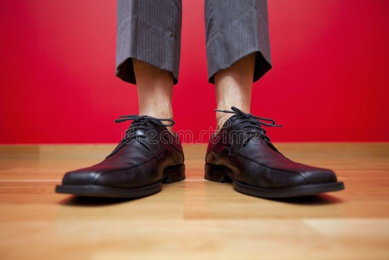 Download Businessman shoes stock photo. Image of floor, comfort - 26613086