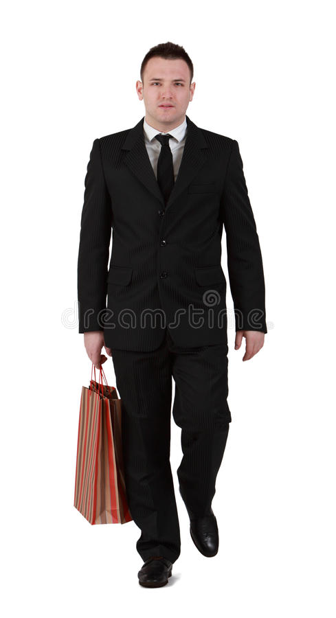 Download Businessman shopping stock image. Image of bags, active - 24167739