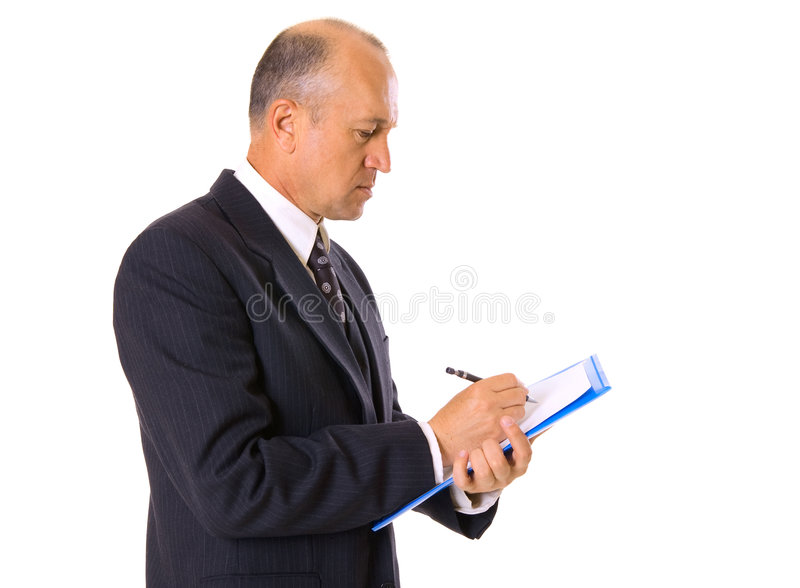 Download Businessman Signing Of Contract Stock Image - Image of intelligent, report: 5571969