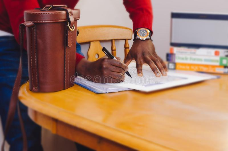 Businessman Signing Contract Free Public Domain Cc0 Image