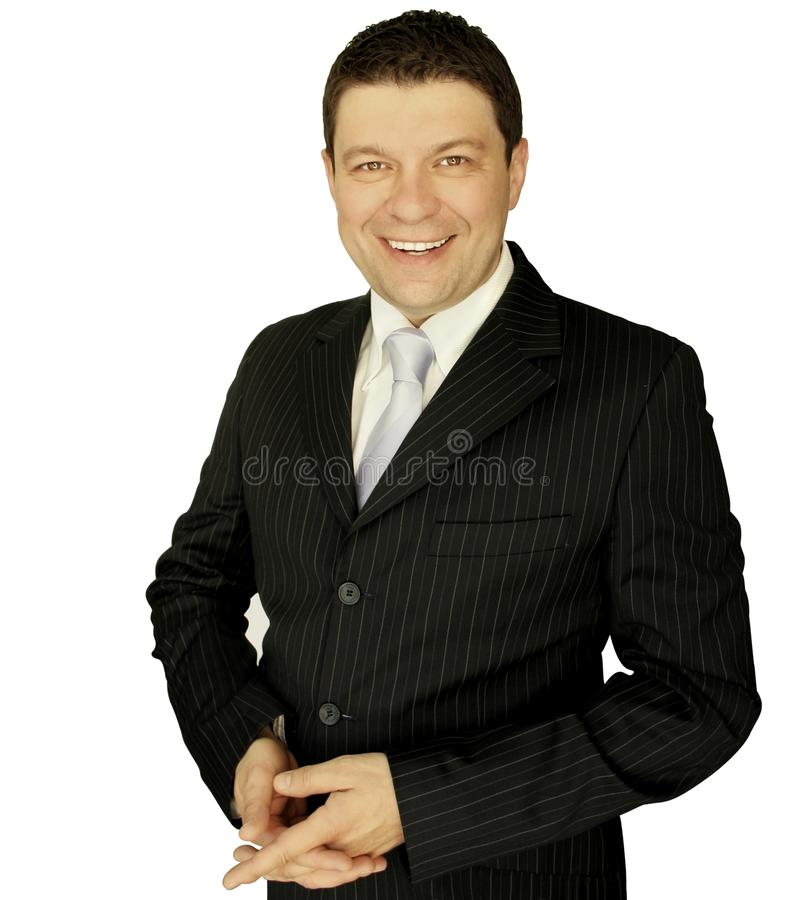 Businessman Smiling Free Stock Photography