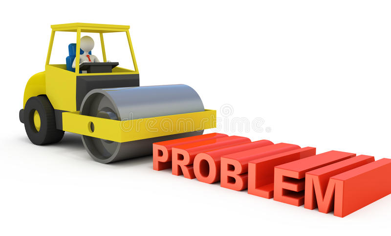 Download Businessman Solving The Problem Royalty Free Stock Images - Image: 21581959