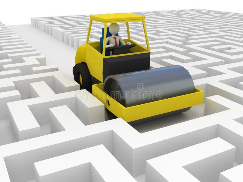 Download Businessman Solving Problem Royalty Free Stock Image - Image: 24845086
