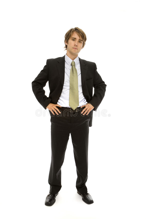 Businessman Stands Stock Photos