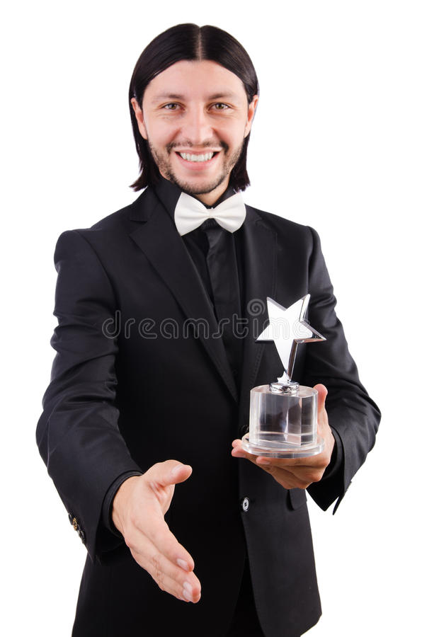 Download Businessman With Star Award Stock Image - Image: 42201899