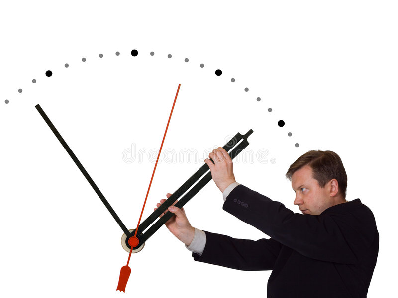 Download Businessman stop time stock photo. Image of minute, people - 6059904