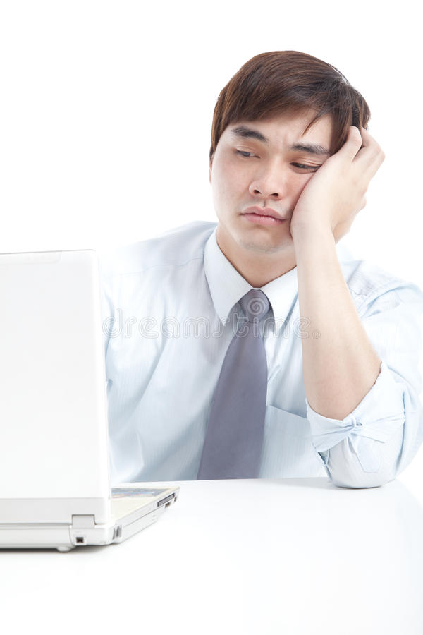 Download Businessman with stress stock photo. Image of person - 25822056