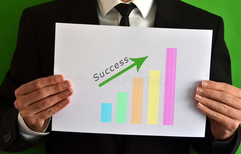 Download Businessman And Success Concept Symbol Stock Photo - Image of corporate, chart: 39506638