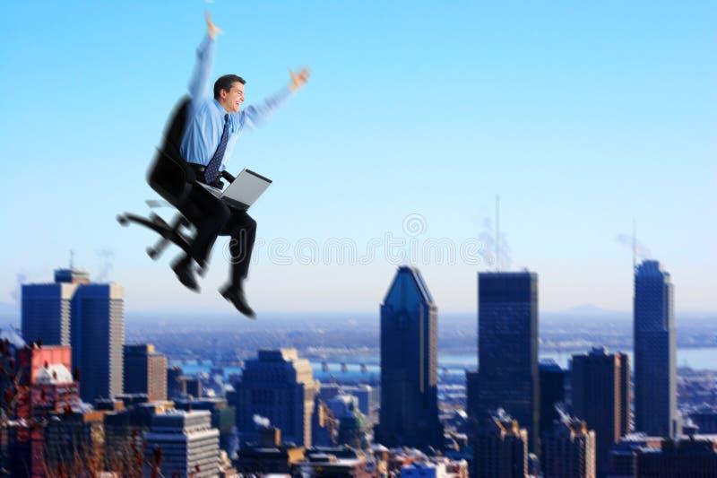 businessman successful στοκ φωτογραφία
