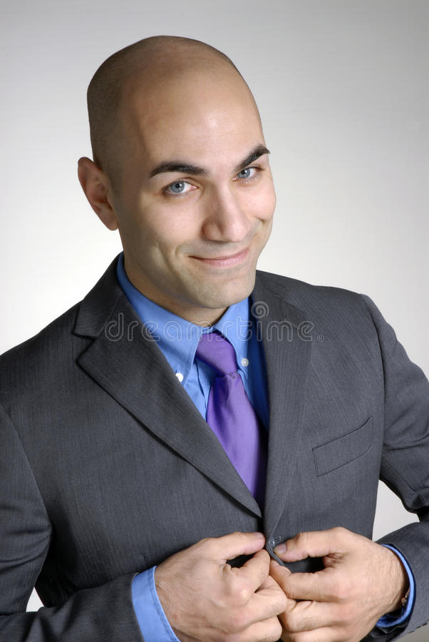 Download Businessman. stock image. Image of male, head, enthusiastic - 41900321