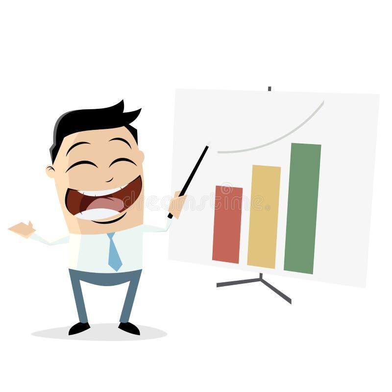 successful business presentation clipart stock vector illustration rh dreamstime com businessman clipart free businessman clipart cartoon