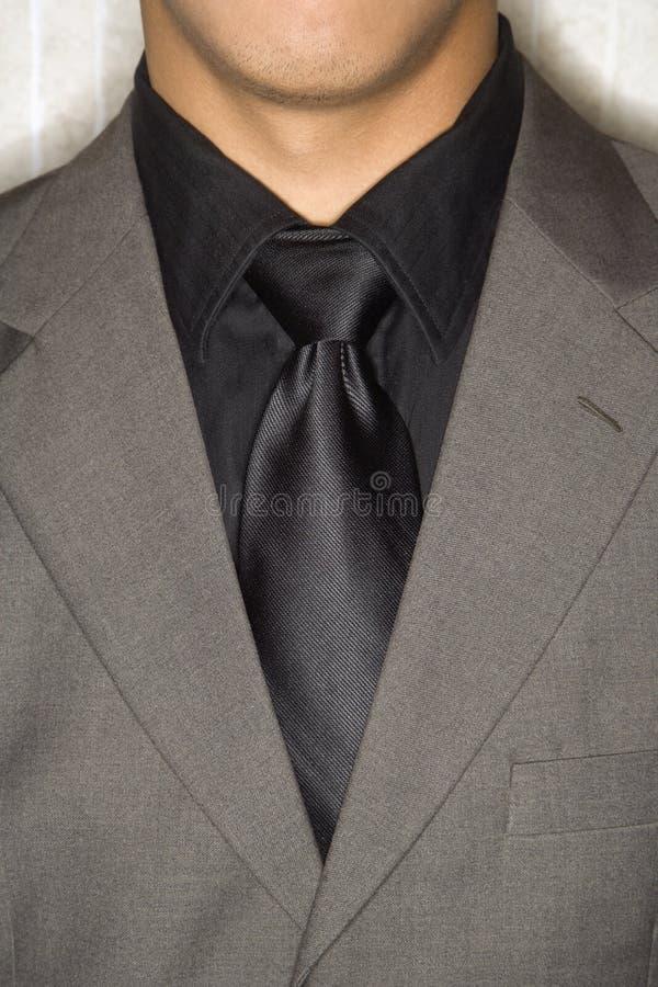 Businessman in Suit and Necktie stock photo