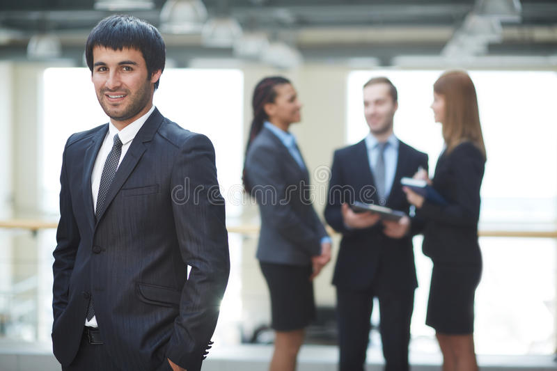 Download Businessman in suit stock photo. Image of looking, executive - 33656558