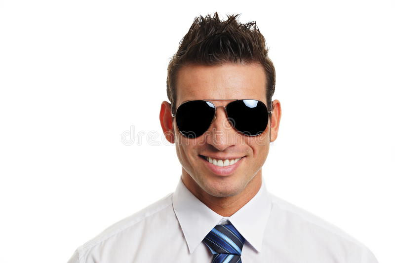 Download Businessman in sunglasses stock photo. Image of business - 39506144