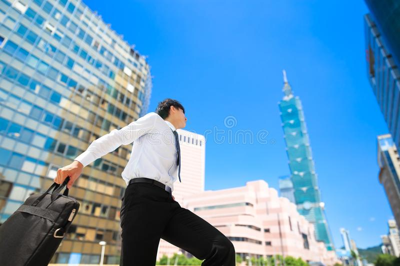 Businessman in taipei stock images