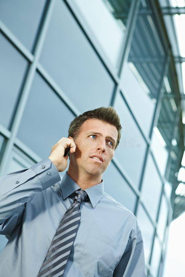 Free Businessman Talking On Phone Royalty Free Stock Photos - 11605508