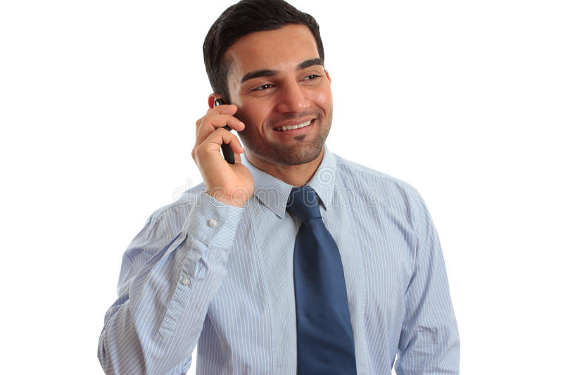Download Businessman Talking On Phone Stock Image - Image of manager, eastern: 17411273