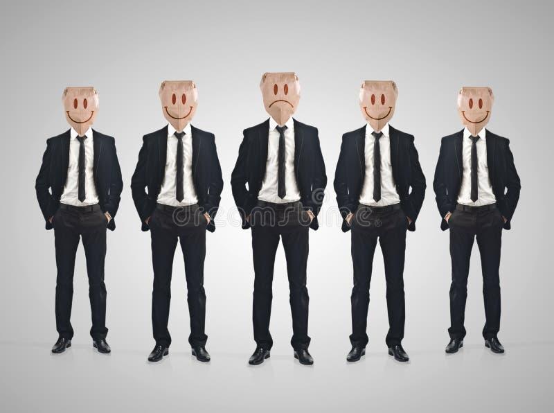 Businessman teamwork concept vector illustration