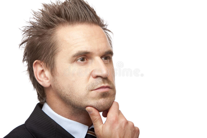Download Businessman Is Thinking About Problem Stock Photo - Image: 11292528