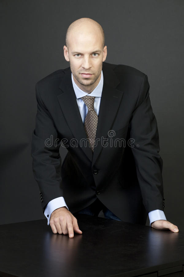 Download Businessman Thinks About Strategy Stock Image - Image: 24081975