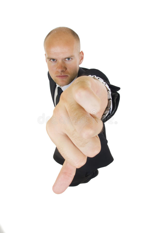 Download Businessman With Thumbs Down Stock Image - Image: 12112983