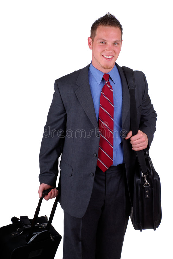 Businessman Traveling royalty free stock photography