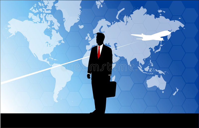 Download Businessman Travelling Royalty Free Stock Image - Image: 4082466