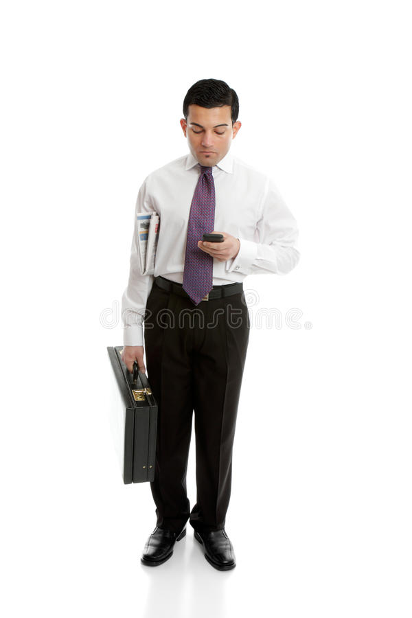 Download Businessman Using Mobile Phone Stock Photo - Image: 24787534