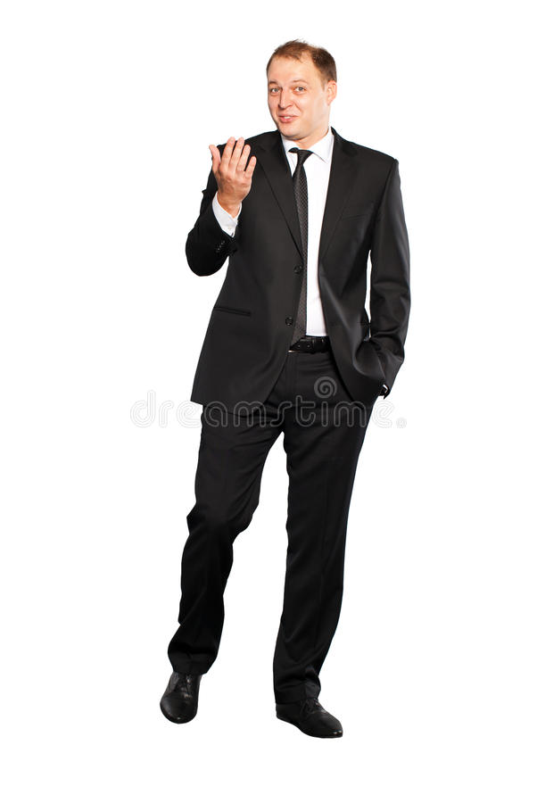 Download Businessman walking stock image. Image of well, front - 16746677