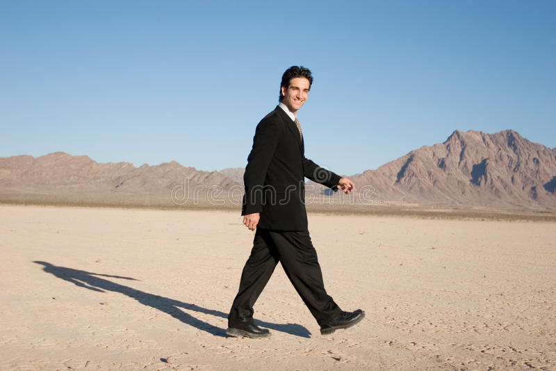 Download Businessman walking stock image. Image of step, powerful - 17814469