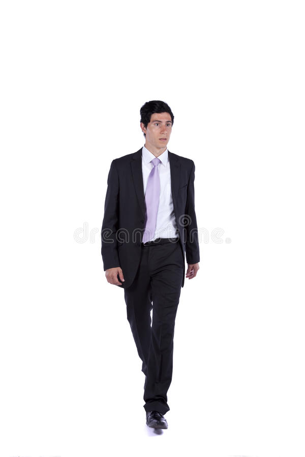 Download Businessman Walking And Looking Away Stock Photo - Image: 17734430