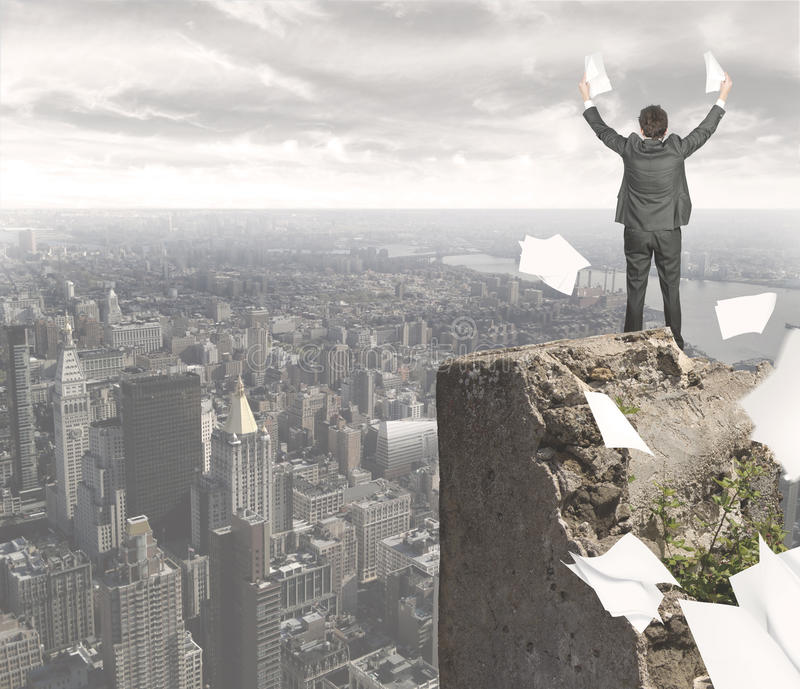 Download Businessman Who Has Achieved Success Stock Photo - Image: 25764838